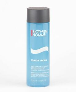 Biotherm Homme - Aquatic Lotion - 200ml After-Shave for Normal Skin