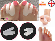 PAIR Gel Toe Separators Toe Spreader Spacer For Overlapping Toes Bunion Pain