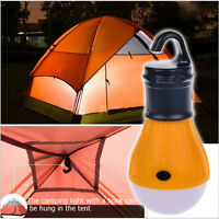 Portable Light Bulb Fishing Lantern Lamp Torch Outdoor Hanging LED Camping Tent