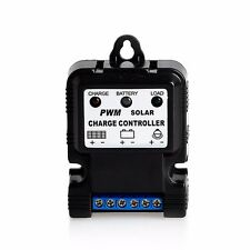 6V 12V 10A Auto Solar Panel Charge Controller Battery Charger Regulator Pwm Safe