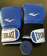 Everlast Boxing Gloves 14oz With Hand Wraps