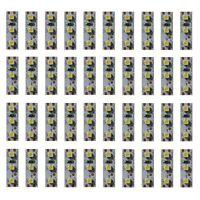 S355 - 40 Stück MINI LED Beleuchtung 2,5cm WEIß Häuser Waggons RC Modelle Autos