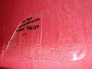 47 48 CHEVROLET PONTIAC NOS GM NOBLO WIND DEFLECTORS pt# 986189