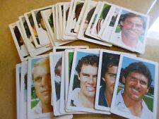 BUTTER 'EM UP 1983/84 FULL SET Australia WI Pakistan CRICKETERS Set(50) CARDS