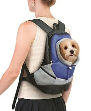 Pet Carrier Backpack Small Dog Cat Adjustable Front Back Travel Holder Carry NEW