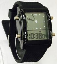 NUOVA NERA DIGITALE (analogico/digitale) Orologio UK Venditore