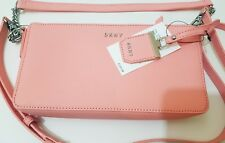 Beautiful blush pink DKNY saffiano RRP £135 bnwt