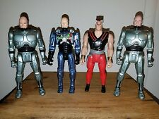 Robo Cop And the Ultra Police Kenner Vintage 80's 90'S Lot of 4