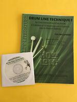 Drum Line Technique I, Chris Crockarell and Chris Brooks, Book/CD Set