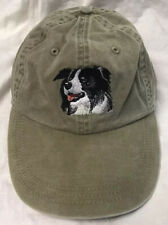 adjustable outdoor doggy Bordor Collie embroidered cap style fit dog wear hat !