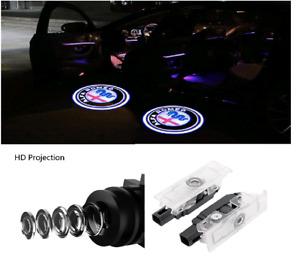 LED Logo ALFA ROMEO 2x Tür Shadow Licht Einstiegsbeleuchtung Projektor for Alle