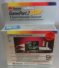 Game Port 2 PLUS A Speed Selectable Gamecard BRAND NEW SEALED