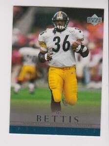 2000 Upper Deck NFL Legends #62 Jerome Bettis card, Pittsburgh Steelers HOF