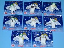 Coca Cola Snowman Mini Figure (Key Chain) Complete Set