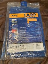 King 8'x10' Lightweight Waterproof Tarp