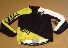NWT Fox Bike Covert SS Jersey Acd GRN Long Sleeve Zip Up Men Medium NEW