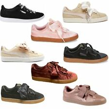 Puma Womens Trainers~Basket~Heart~RRP £45~Sizes UK 3 to 8