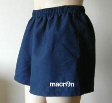 Macron Size S Blue Running Athletics Jogging Gym Shorts Excellent