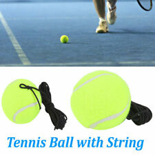 Tennis Training Ball w/Elastic Rope Ball On Elastic String Trainer Practice New