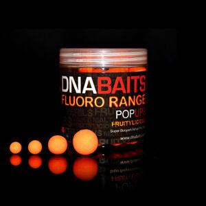 DNA BAITS Fluoro Pop Up, Fruitylicious, carp fishing, bait, 12mm