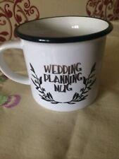 "Orca Metal "" Wedding Planning"" Mug"