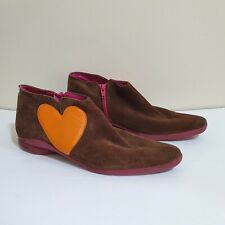 Agatha Ruiz de la Prada Shoes 5 Brown Suede