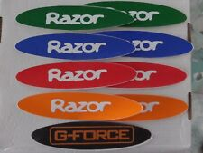 Razor A Kick Scooter, Scooter Decals, 5 Colors you pick lot of 2 stickers