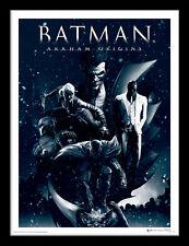 Batman Arkham Origins Montage - Framed 30 x 40 Official Print