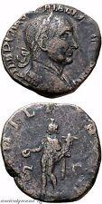 MONETA romana AE Sestertius AE Traiano Decio Gen illvrici S-C, 249-251 D.C.