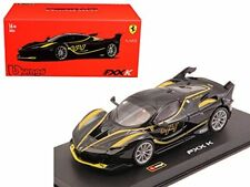 Bburago 1:43 Signature Series Ferrari FXX K Black #44 Diecast Model Racing Car
