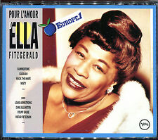 ELLA FITZGERALD - POUR L'AMOUR D'ELLA FITZGERALD - DOUBLE CD ALBUM   [3]