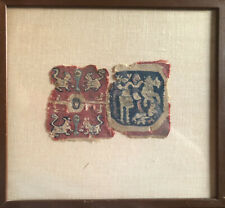 EXTREMELY RARE - Ancient? Coptic, Islamic, East Asian? Antique Textile Fragment