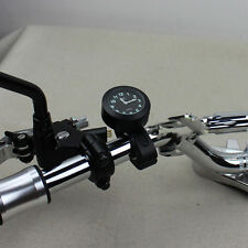 """Universal 7/8"""" -1"""" Impermeable De Motocicleta Manillar Reloj resplandor Reloj útil"""