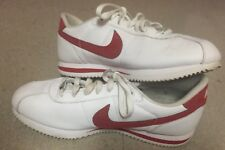NIKE MENS TENNIS SHOES SIZE 10.5 WHITE & RED 2014 Cortez '72 Great Condition
