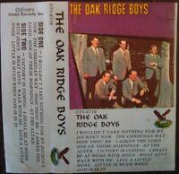 "Oak Ridge Boys ""Self-titled"" 1975 Cassette Tape Album Country RARE!!"