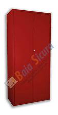 Armadio Portascope Metallo Tutto Colorato Scope Metallico 180 80 40 Acciaio