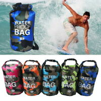 2L-30L Waterproof Dry Bag Sack for Canoe Floating Boating Camping Large Backpack