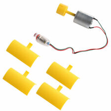 Micro DC Motor Small LED lights Vertical Axis Wind Turbine Generator Blades