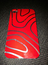 GLOSSY PLASTIC BACK CASE / COVER FOR APPLE iPHONE 4 4S - INCASE SWIRL DESIGNS