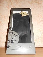 gants en cuir noir avec noeud taille M - neufs