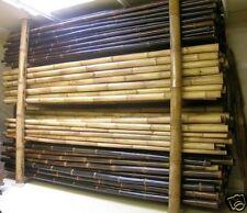 Bambusstangen Wulung Bambusrohr brauner Bambus Bambusrohr 4 Meter  D=70-90mm
