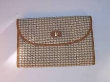 PIERRE CARDIN HOUNDTOOTH FOLD OVER clutch purse bag  - combined S/H