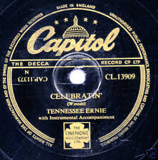 """TENNESSEE ERNIE FORD 78 """"CELEBRATIN'/ EVERYBODY'S GOT A GAL BUT ME """" CL 13909 E-"""