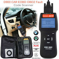 D900 Car Code Reader Scanner OBD2 EOBD CAN BUS Vehicle Fault Diagnostic Tool