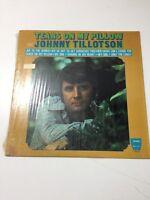 Jonny Tillotson - Tears On My Pillow  (Vinyl Record, 33, BBS-1007)