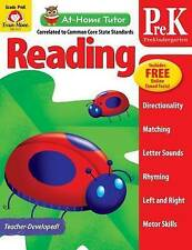 NEW At-Home Tutor: Reading, Grade Pre-K by Evan-Moor