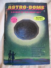 Astro-dome 3-D Map of Night Sky GLOWS IN DARK  1983 First US Printing UNUSED