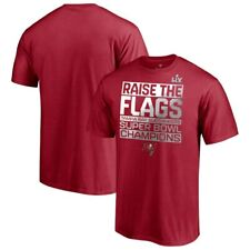 Men Tampa Bay Buccaneers Red Super Bowl LV Champions Parade Celebration T-Shirt