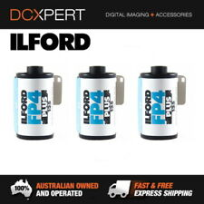 ILFORD FP4 PLUS – 3 PACK – 36 EXPOSURES – 35mm BLACK & WHITE NEGATIVE FILM