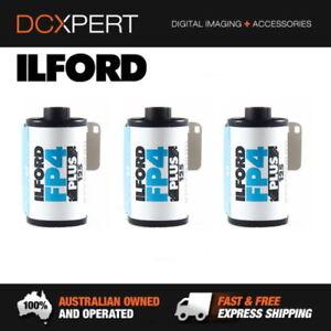 ILFORD FP4 PLUS ISO 125 35MM 36 EXPOSURES BLACK & WHITE FILM (1649651) (3 PACK)